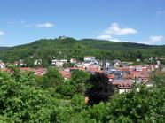 Blick auf Bad Blankenburg